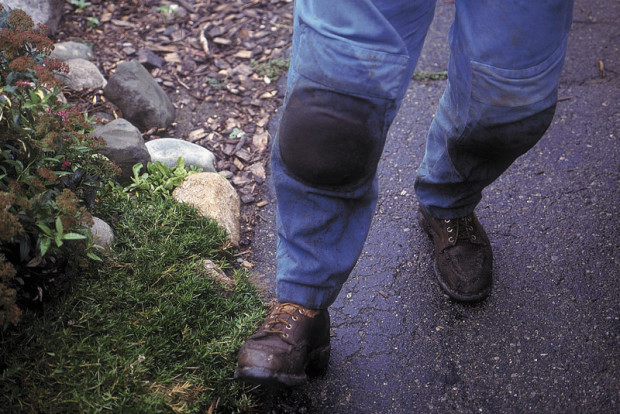 Boots...one of the best tools for the garden. A gardener in boots can accomplish far more when working with hard-packed soil than a gardener in tennis shoes.