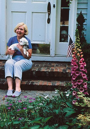 Judith Mueller's life philosophy helps her to garden as gracefully now as she did 30 years ago. She views gardening as a continual choice, made each year. How she gardens each year changes with her own situation that year.