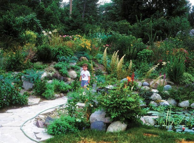 Gardeners' interests change, and their garden sharing agreements should, too. Young children may like open areas, older children may want seclusion. All of them like water.