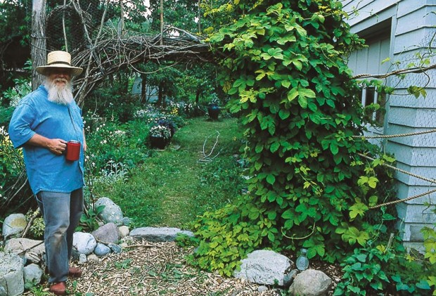 "Recuperating from a heart attack forced Wil Strickland to take a step back and assess not only his garden but his place in it. ""I flit from job to job more now,"" he says. ""I don't try to weed a whole bed at once, just to fill one bucket with weeds. People who come to your garden will forgive your weeds."""
